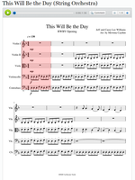 This Will Be the Day Orchestra Arrangement by Mewnna-Caythin