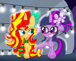 Everfree Party by LOVEHTF421