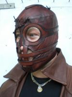 """Steampunk Lucha Libre 2""-2 by Leder-Joe"