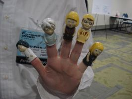 Near Finger puppets fanime08 by otakuukato