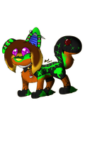 .:PC:. Zombie Chibi by CollectionOfWhiskers