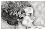 The Bride of Frankenstein by EmilyHitchcock