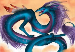 The eastern dragon by PsychoNinjaNatalie