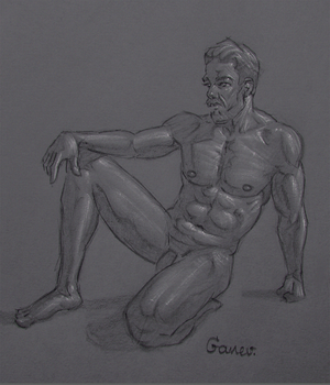 Figure Drawing #74 by AngelGanev