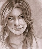 Meredith Grey by ellie-art