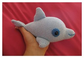 Ugo The Dolphin Amigurumi by CarolBarajas