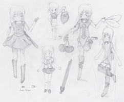 Reference Sheet New OC by Asuna---Chan