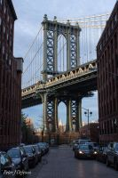 DUMBO View of the Manhattan Bridge by peterjdejesus