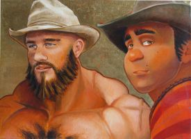 Wreck it Ralph & Zangief do Brokeback by NYCTop4Mscl