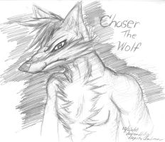 Chaser the Wolf by NeyokoChalimar