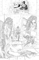 Red She Hulk backup 2 page 1 by RyanStegman
