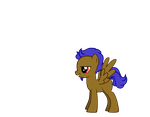My OC Pony by BleakDepression
