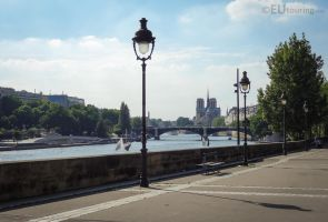 View over the river and Paris by EUtouring