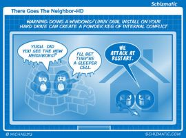 There Goes The Neighbor-HD by schizmatic