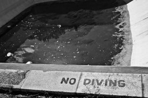 No Diving by blackasphyxia