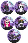 Nyanpire Buttons by Down-The-Stairs