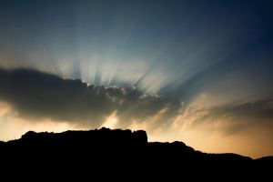 Cloud Rays by scotto
