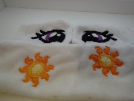Celestia cutiemarks and eyes by CrossStitchedHeritic