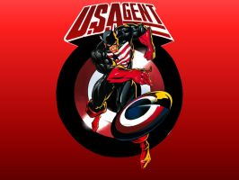 US Agent by Bart Sears by Superman8193
