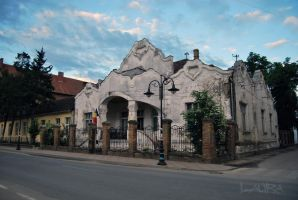 old building by Lk-Photography