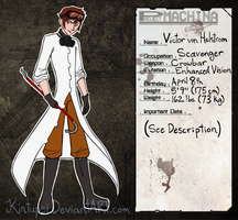 Project-Machina: Victor von Helstrom by Kintupsi