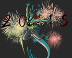 Into the New Year by Doodlee-a
