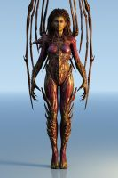 Starcraft II Kerrigan Model by Walter-NEST