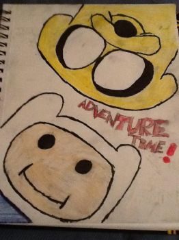 Finn and Jake by Zero-The-Prototype