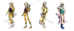 Dissidia: Celes Chere Costumes by isaiahjordan