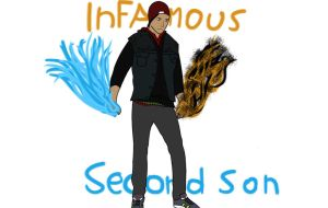 inFAMOUS : Second son - Feed the need by CRObandit