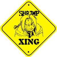 Shrimp Crossing by Alchemy-Otaku