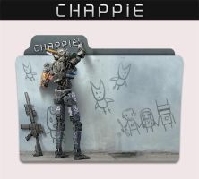 Chappie 2015 Folder Icon by sonerbyzt