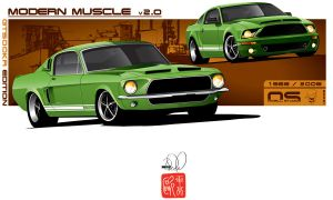 Modern Muscle GT500KR Edition by cityofthesouth