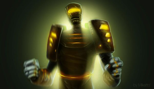 Robot by Mikatto