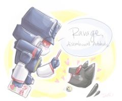 TF: Mini SW + Ravage by DoodleWEE