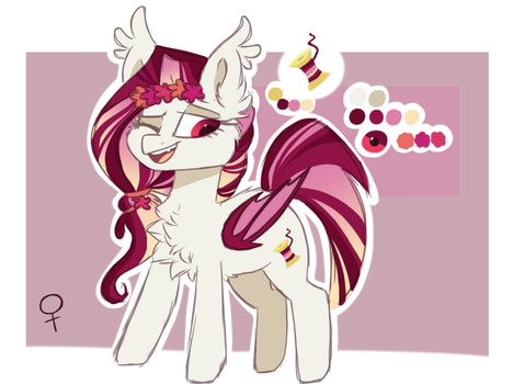 Blossom Strings   Reference-Sheet by HiccupsDoesArt