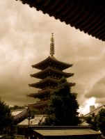 One Lonely Pagoda by SweetAsPoison
