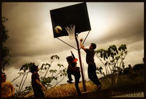 basketball by kEnkEn103
