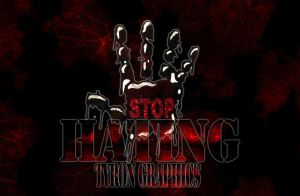 stop hating wallpaper by mademyown