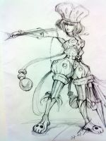 Pencil Sketching by TCHS530