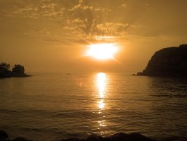 Sunset in Amasra by CpolART