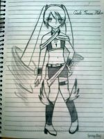 Hatsune Miku Custom Design 2: Gale Force by UnitInfinity