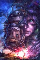 Howl's Moving Castle by AIM-art