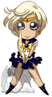 Big Eyes Chibi Sailoruranus by kuroitenshi13