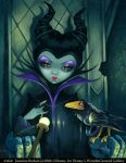 Maleficent Enthroned by jasminetoad