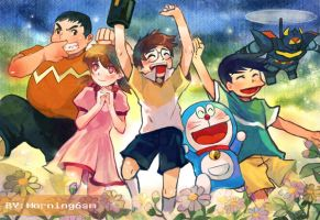 Doraemon by morning6am