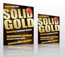 Events Flyer A4 and A5 by egdesign01