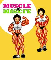 muscle x muscle by e19700