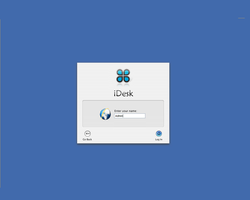 iDesk Login Screen by GeekGod4