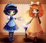 Honey and Annabelle by ChildOfMoonlight